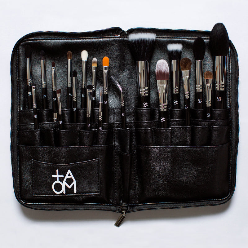 20 Piece TAOM brush set against a white background