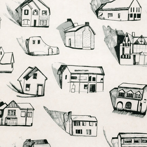 HOUSES black grey cream