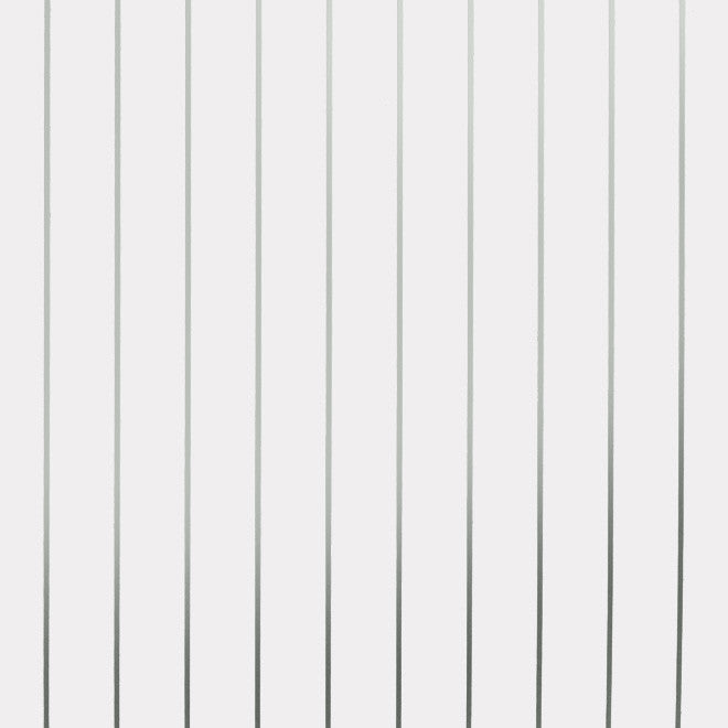 PINSTRIPE silver white wallpaper by Erica Wakerly sample