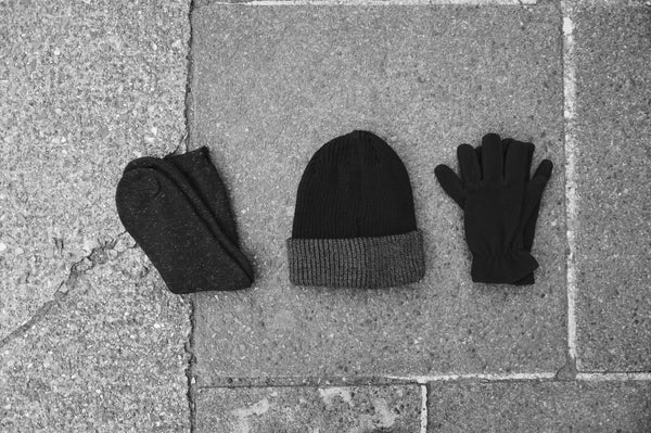 Hat, Socks, Gloves
