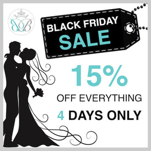 Black Friday Wedding Sale
