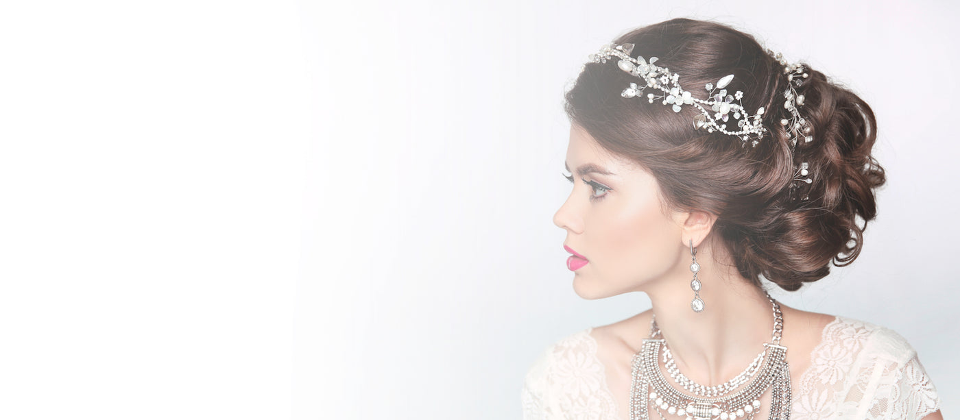 Shop for Bridal Wedding Hair Accessories & Jewellery ♥ Free Delivery