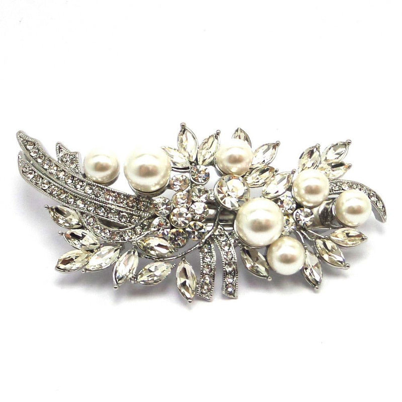 Crystal Starlet Hair Clip-Hair Accessories-Bride Boutique
