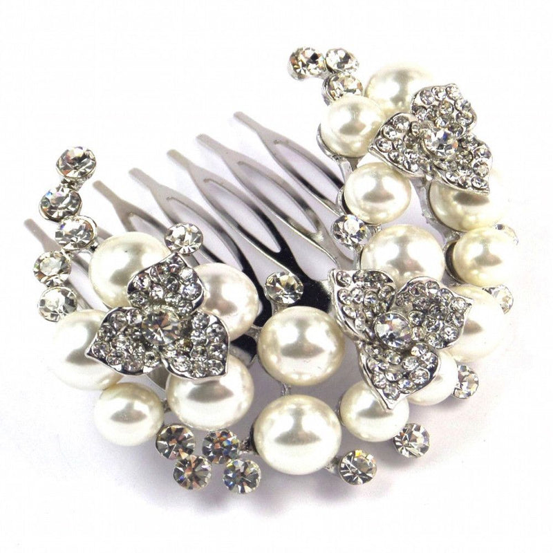 Wreath Of Beauty Hair Comb-Hair Accessories Bride Boutique