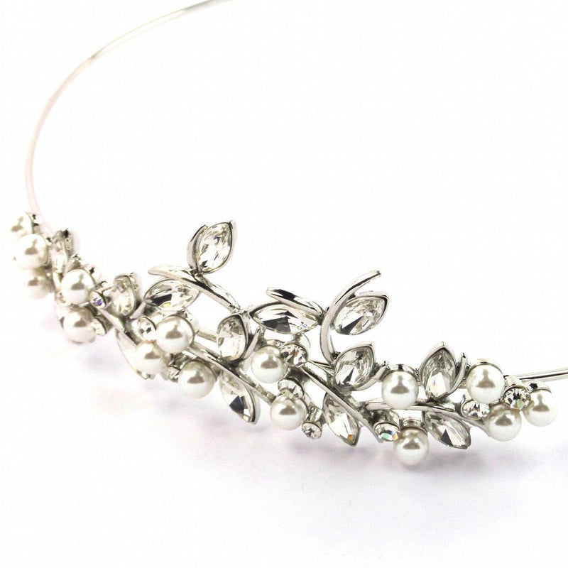Divine Bridal Headband-Hair Accessories-Bride Boutique