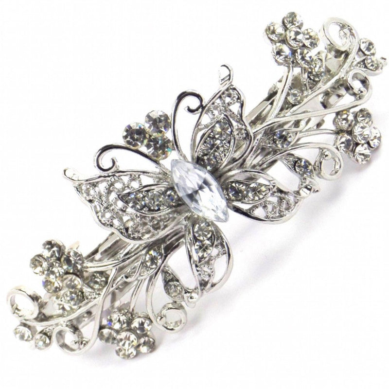 Vintage Butterfly Hair Clip-Hair Accessories Bride Boutique