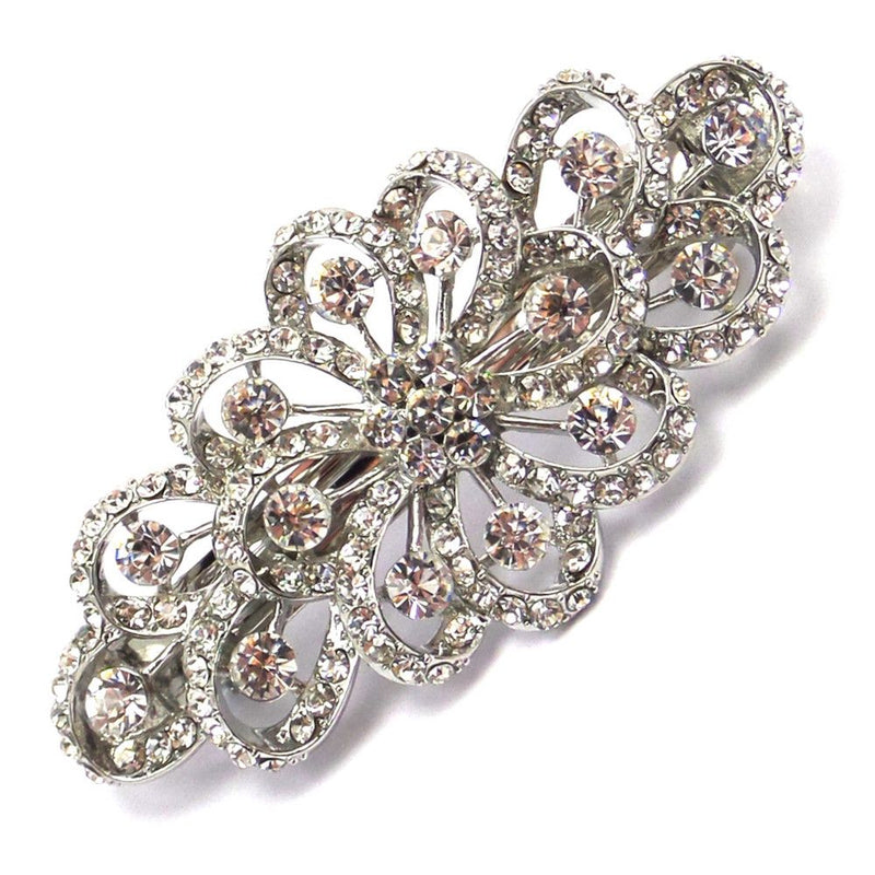 Vintage Sparkle Wedding Hair Clip-Hair Accessories-Bride Boutique