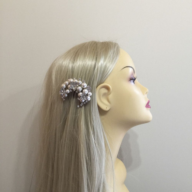 Wreath Of Beauty Hair Comb-Hair Accessories-Bride Boutique