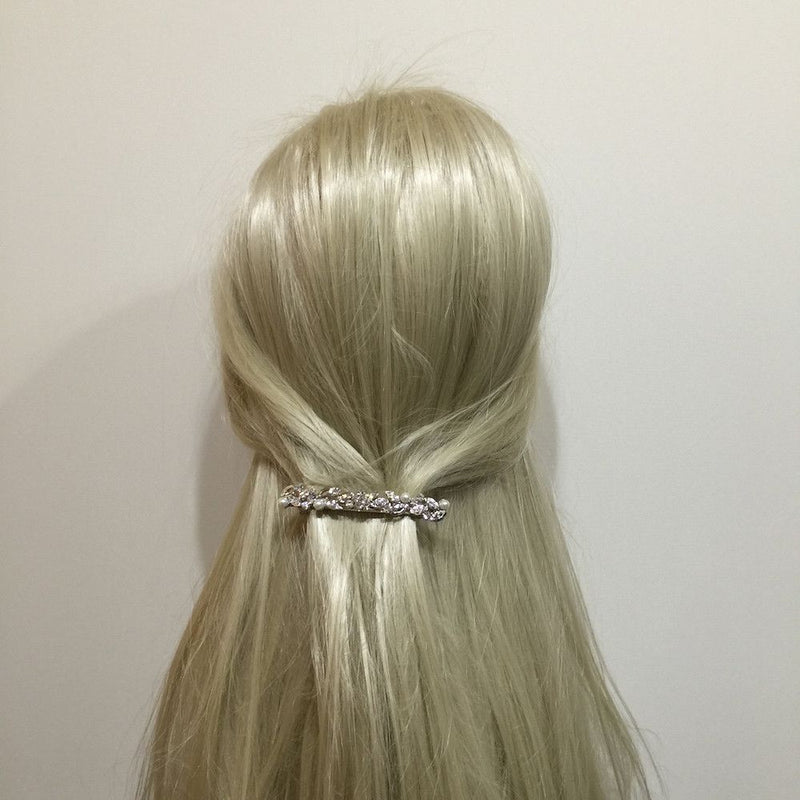 Graceful Beauty Crystal Hair Clip-Hair Accessories-Bride Boutique