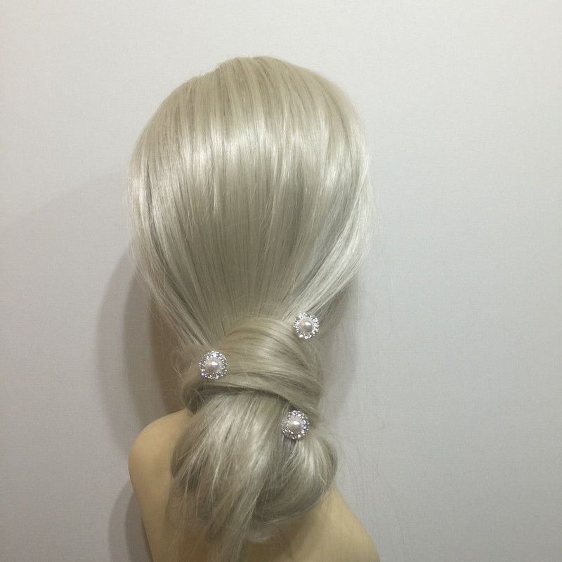 Vintage Pearl Hair Pins-Hair Accessories-Bride Boutique