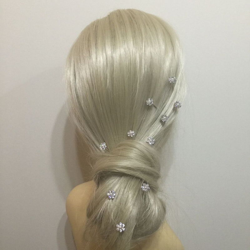 Daisy Delight Pearl Hair Pins-Hair Accessories Bride Boutique