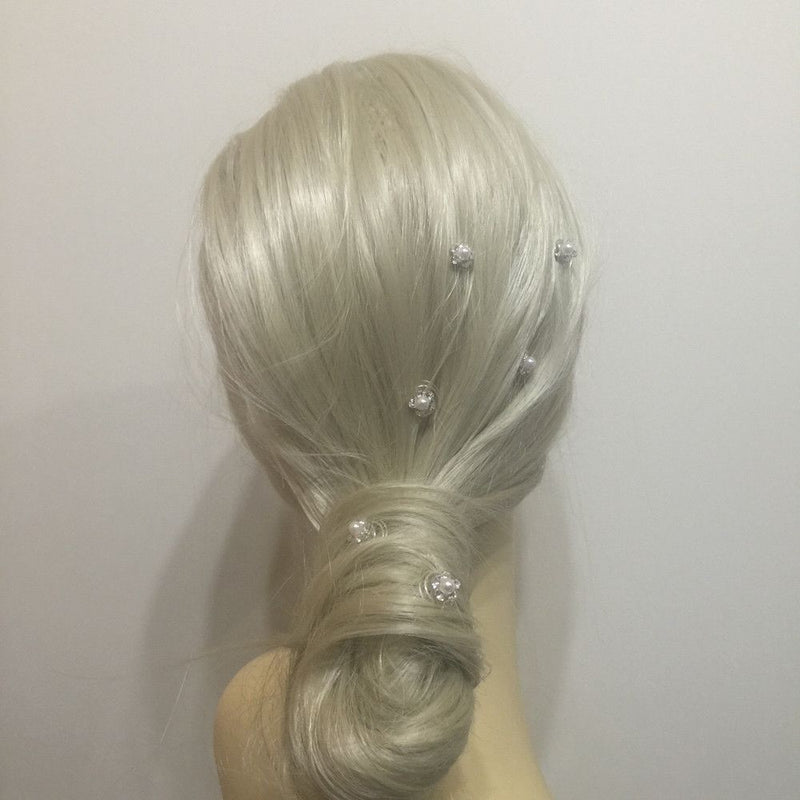 Pearl Flower Hair Twists-Hair Accessories-Bride Boutique