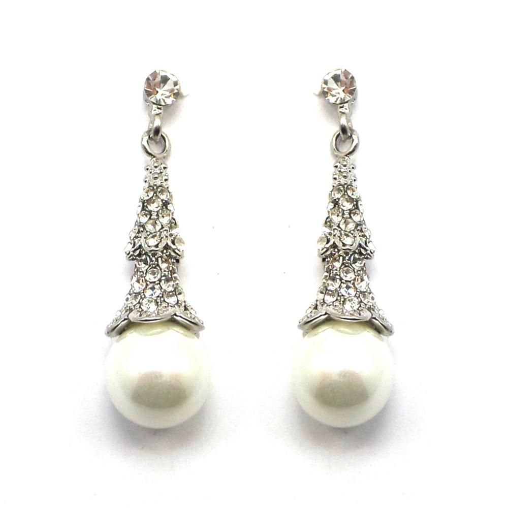 pearl bride collections sandi earrings library of pointe virtual