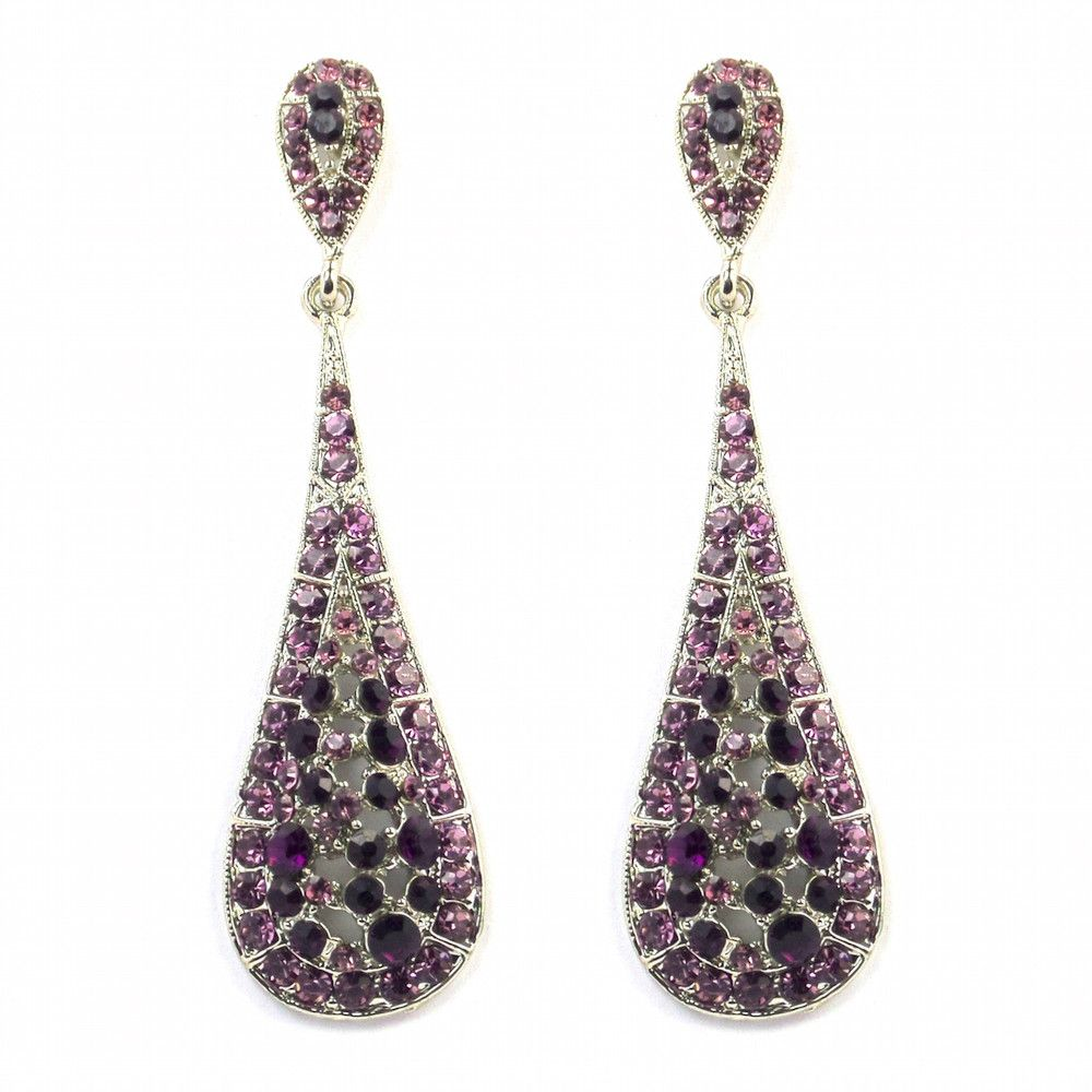 wallace default corp purple earrings women womens paige s small shop stud l