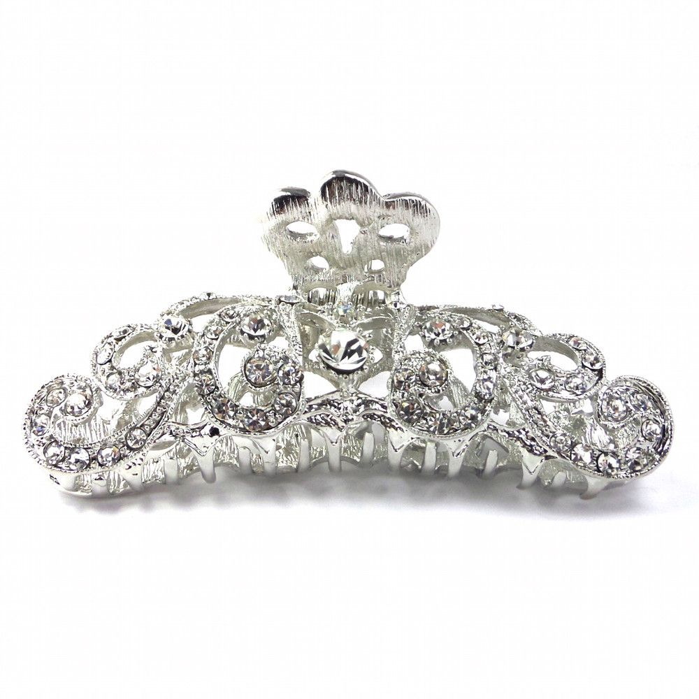 Romance Large Hair Claw-Hair Accessories-Bride Boutique