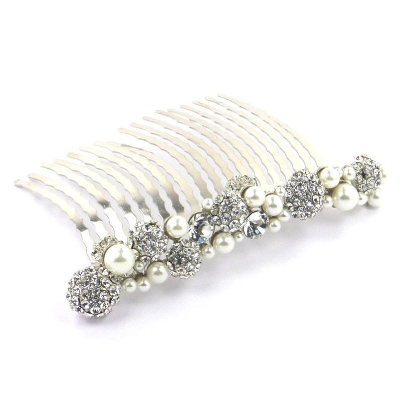 Shamballa Jewels Crystal Hair Comb-Hair Accessories-Bride Boutique