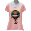 Wolfishly Floating Ladies T-Shirt