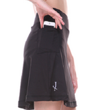 Little Black Active Skirt