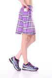 """Mad About Plaid"" Women's Active Skirt / Kilt - Green/Blue"
