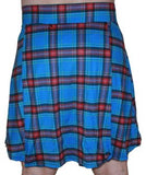 NEW Men's Running Kilt Blue / Plaid