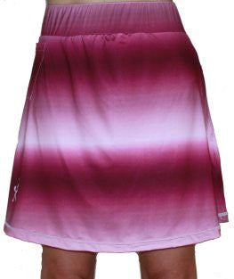 "NEW ""Perfectly Patterned"" Women's Maroon Active Skirt"