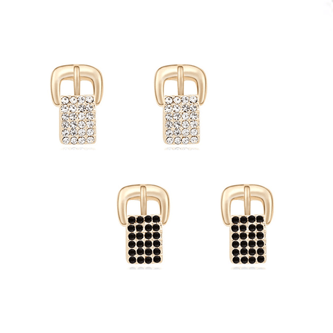 Buckle Crystal earrings Combo