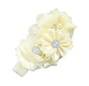 Bouquet hair band Cream