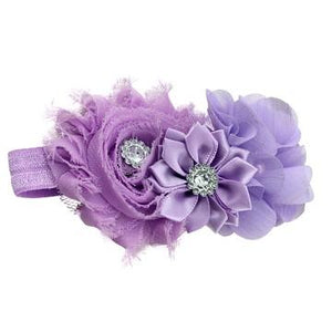Bouquet hair band Purple