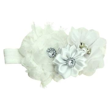 Bouquet hair band White
