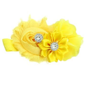 Bouquet hair band Yellow