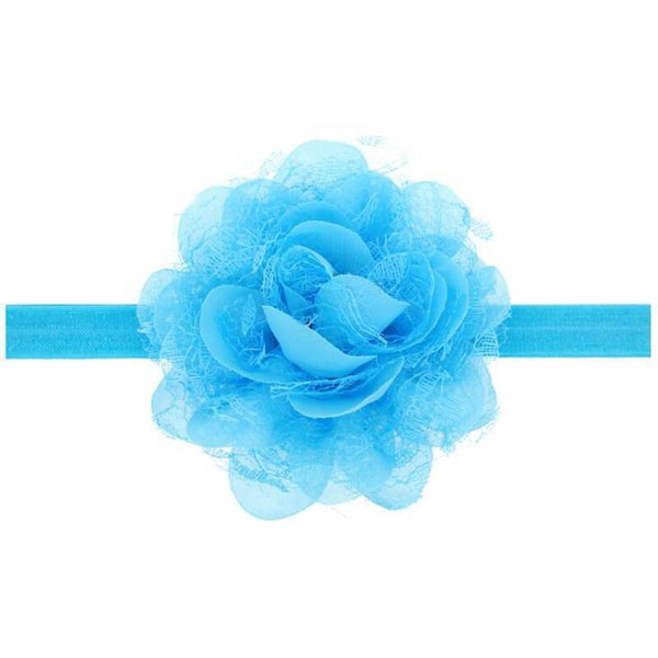 Dahlia hair band Light Blue