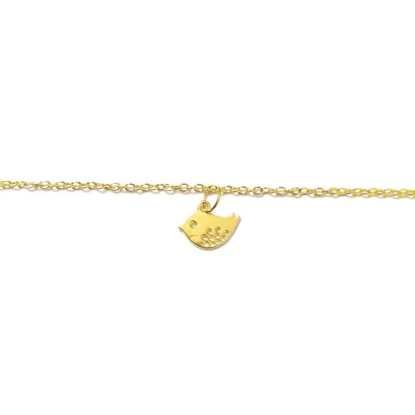 Little Bird Gold charm