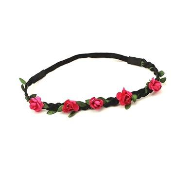 Floral Bonanza Elastic hair band Multi-color - Pink Hippo Store