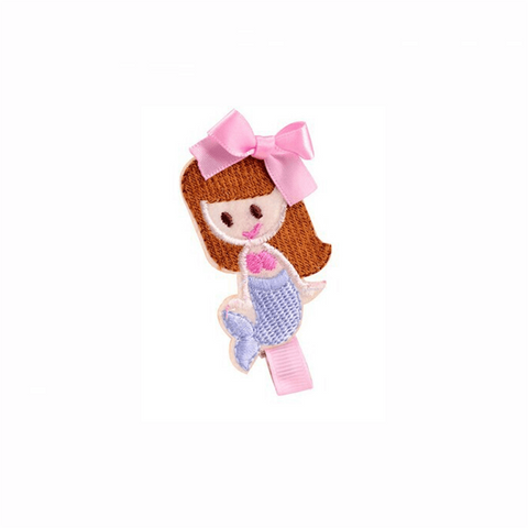 Pink Hippo Store Ariel Princess hair pin