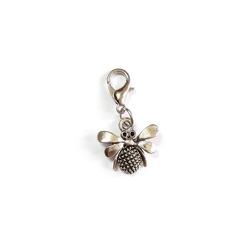 Pink Hippo Store Bee Antique charm