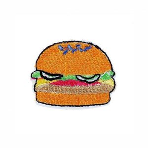 Pink Hippo Store Burger Sew-on Patch