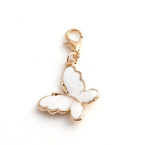 Pink Hippo Store Butterfly Enamel charm