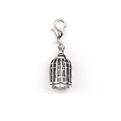 Pink Hippo Store Cage Antique charm