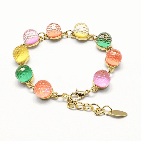Pink Hippo Store Candy Bead bracelet