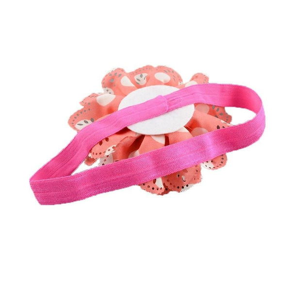 Pink Hippo Store Carnation hair band Tomato-White