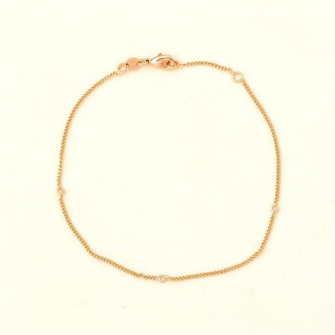 Pink Hippo Store Charm Fit Bracelet Gold