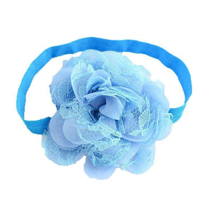 Pink Hippo Store Dahlia hair band Light Blue Light Blue