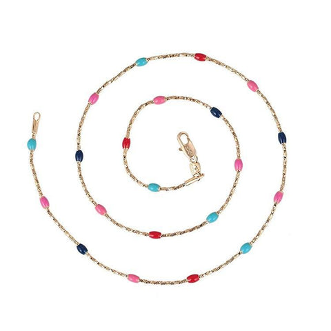 Pink Hippo Store Elle Bead necklace Multicolor