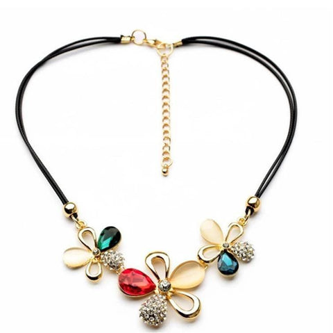 Pink Hippo Store Floral Exotica necklace Default Title