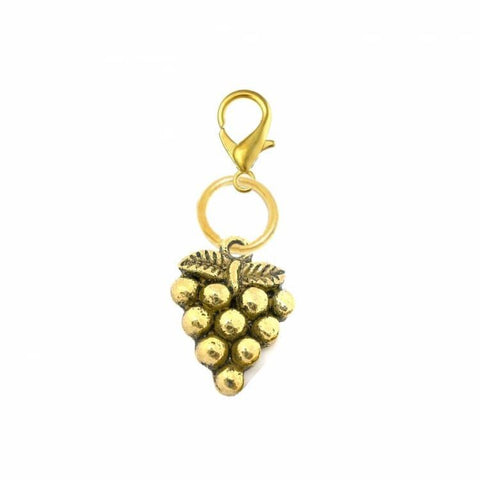 Pink Hippo Store Grape Bunch Antique charm