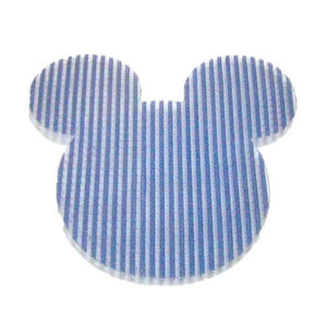 Pink Hippo Store Mickey Velcro hair pin Dark Blue