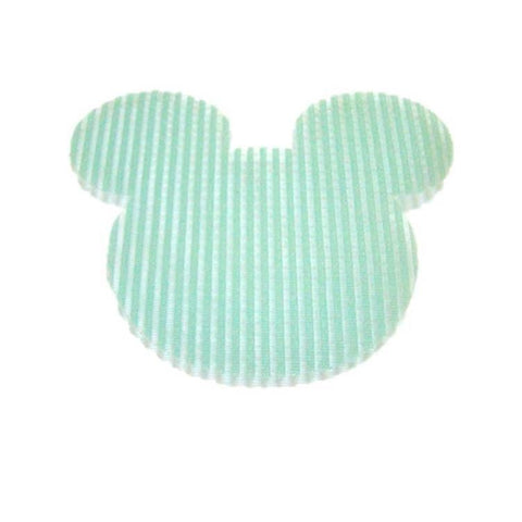 Pink Hippo Store Mickey Velcro hair pin Light Green