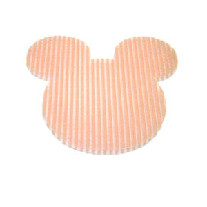 Pink Hippo Store Mickey Velcro hair pin Orange