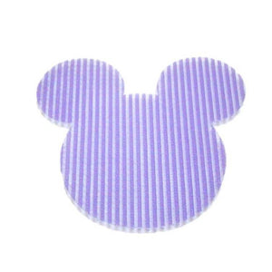 Pink Hippo Store Mickey Velcro hair pin Purple