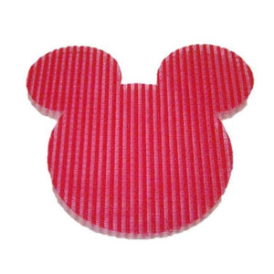 Pink Hippo Store Mickey Velcro hair pin Red